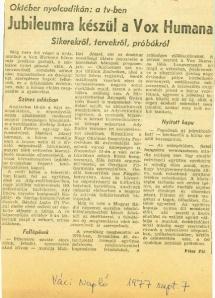 1977_szeptember_7_Jubileumra_keszul_a_Vox_Humana