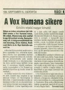 1994_szeptember_15_A_Vox_Humana_sikere
