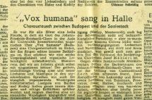 Vox Humana Halleban